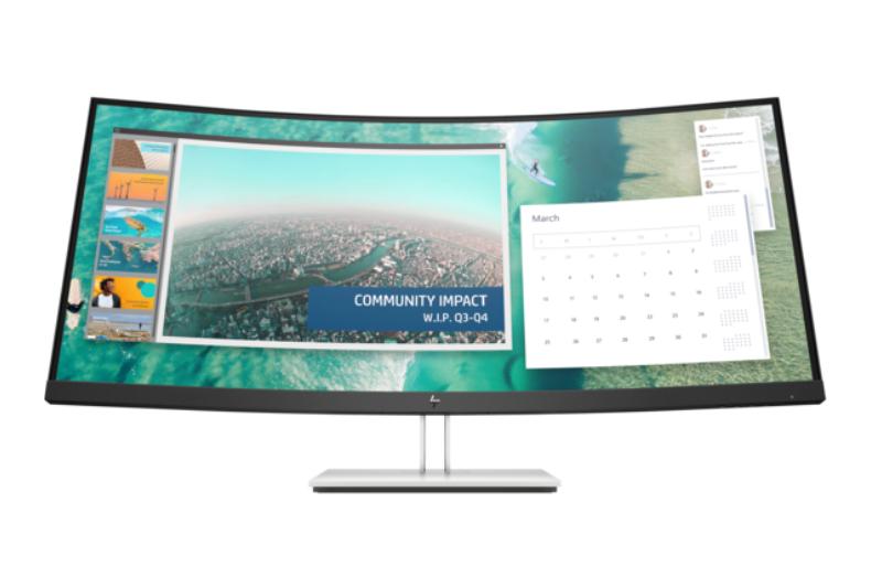 Zakrivený monitor HP E344c