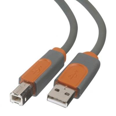 BELKIN USB 2.0 A - USB 2.0 B prepojovací kábel M/M 0,9m prémiový
