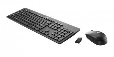 HP Wireless Slim myš a klávesnica