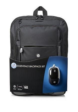 "HP Essentials Batoh 16"" + USB myš"