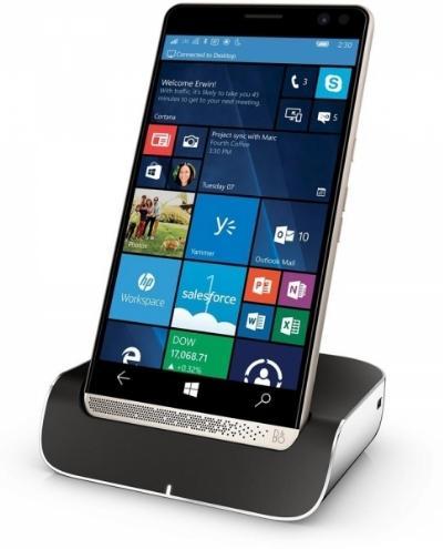 HP Elite x3 + Desk Dock + headset