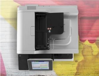 HP LaserJet EnterpriseM725z+