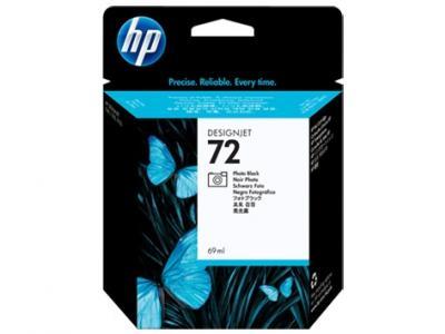 HP 72 čierna atramentová kazeta malá