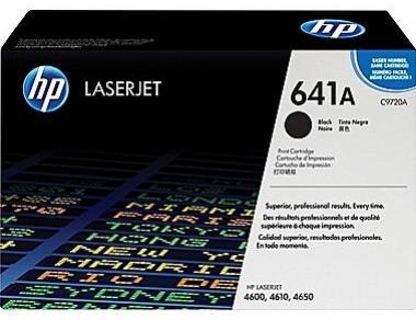 HP 641A čierny laserový toner