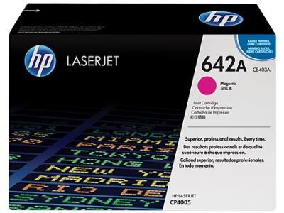 HP 642A purpurový laserový toner