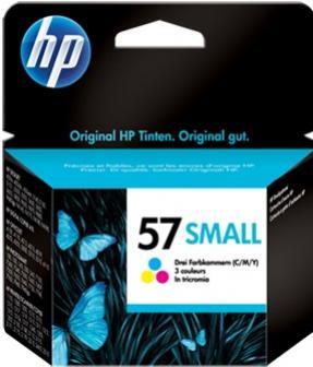 HP 57 farebná atramentová kazeta malá