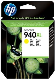 HP 940XL žltá atramentová kazeta