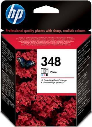 HP 348 foto farebná atramentová kazeta