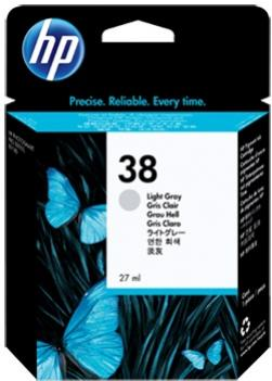 HP 38 svetlá sivá atramentová kazeta