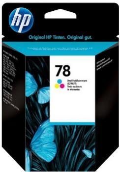 HP 78 farebná atramentová kazeta