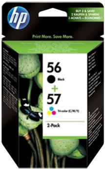 HP 56 čierna / 57 farebná atramentová kazeta
