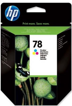 HP 78 farebná atramentová kazeta veľká