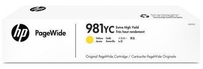 HP 981YC žltá atramentová kazeta