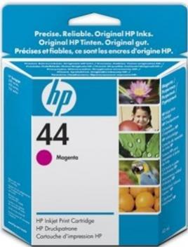 HP 44 purpurová atramentová kazeta