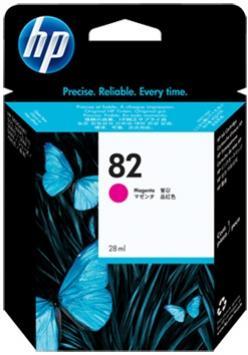 HP 82 purpurová atramentová kazeta