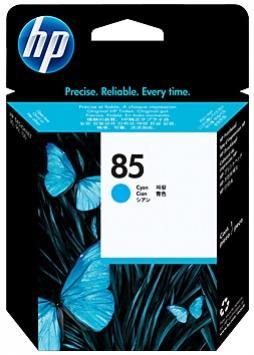 HP 85 azúrová tlačová hlava