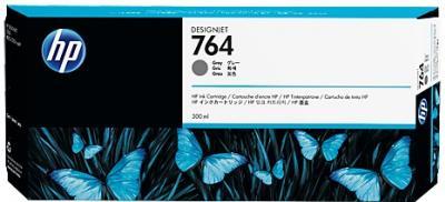 HP 764 sivá atramentová kazeta