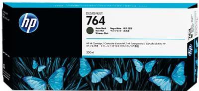 HP 764 matná čierna atramentová kazeta
