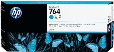 HP 764 azúrová atramentová kazeta