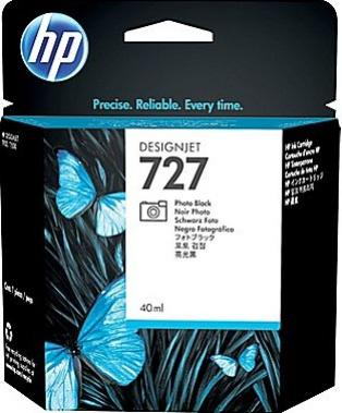 HP 727 foto čierna atramentová kazeta malá
