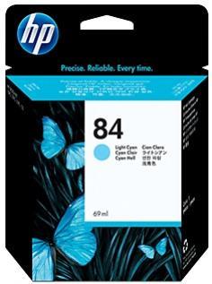 HP 84 svetlá azúrová atramentová kazeta