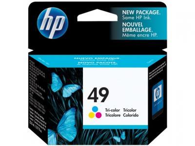 HP 49 farebná atramentová kazeta