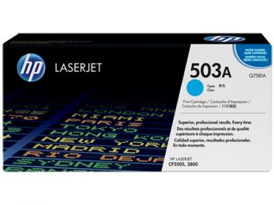 HP 503A azúrový laserový toner