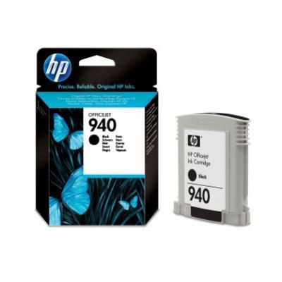 HP 940 čierna atramentová kazeta