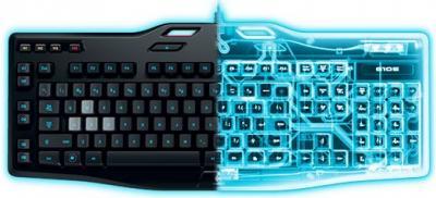 LOGITECH Herná klávesnica G105 US