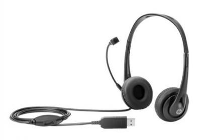 HP Stereofónne USB slúchadlá