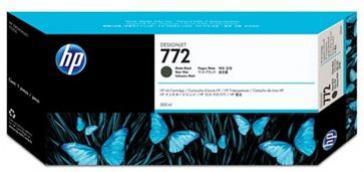 HP 772 matná čierna atramentová kazeta