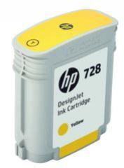 HP 728 žltá atramentová kazeta malá