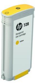 HP 728 žltá atramentová kazeta