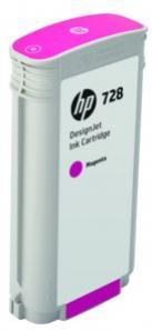 HP 728 purpurová atramentová kazeta