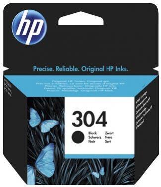 HP 304 čierna atramentová kazeta
