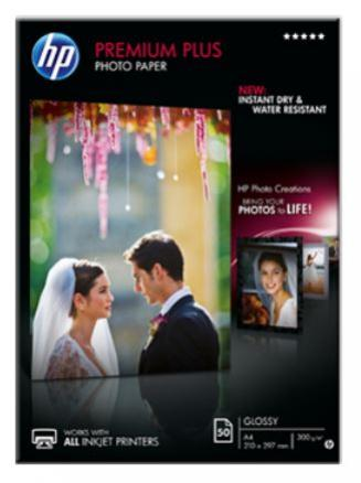 HP Lesklý foto papier A4 50 listov