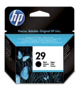 HP 29 čierna atramentová kazeta