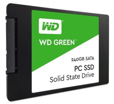 Western Digital SSD 240GB Green 3D NAND