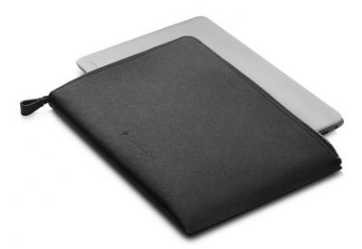 HP Čierne kožené púzdro 13,3
