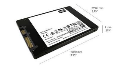 "Western Digital SSD 2,5"" 500GB Blue 3D NAND"