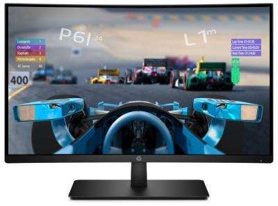 HP 27x Curved gaming display