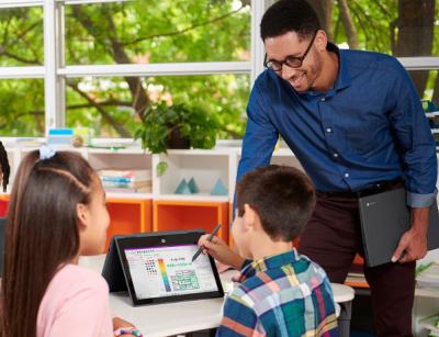 HP vylepšuje digitálne skúsenosti s výučbou a učením s novými Chromebookmi na BETT 2020