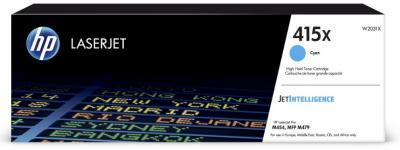 HP 415X azúrový laserový toner