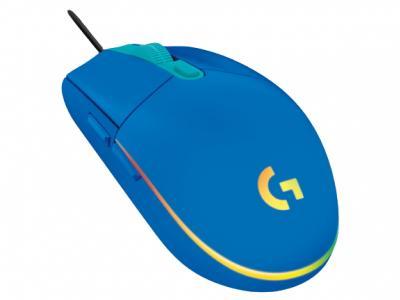 LOGITECH G102 Lightsync herná myš modrá