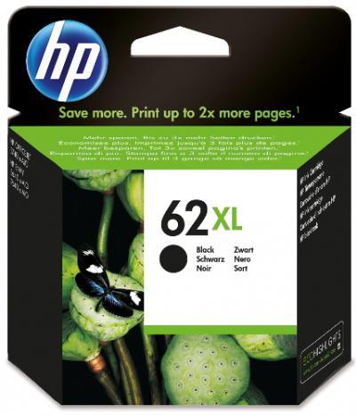 HP 62XL čierna atramentová kazeta