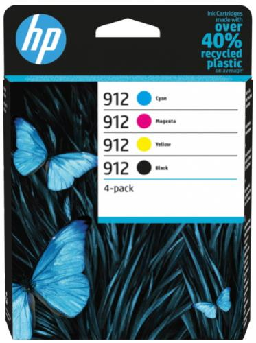 HP 912 štvorfarebná atramentová kazeta