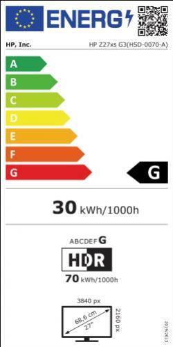 HP Z27xs G3 Dremacolor