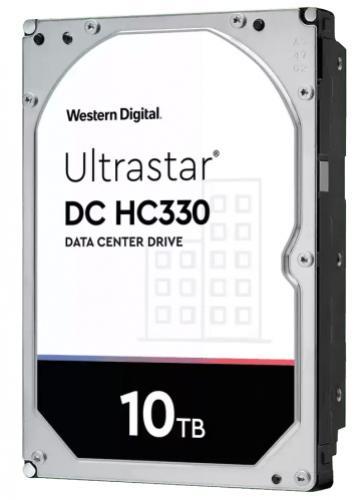 """Western Digital 3,5"""" HDD 10TB Ultrastar DC HC330 256MB SAS, SE"""