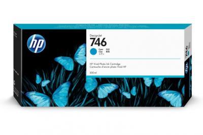 HP 746 azúrový atrament