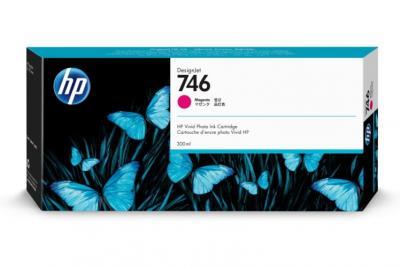 HP 746 purpurový atrament